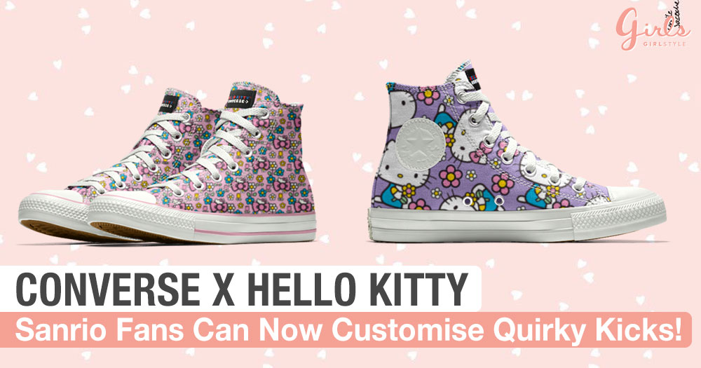 Converse Drops A New Line Of Customisable Hello Kitty Chuck Taylors For Sanrio Fans