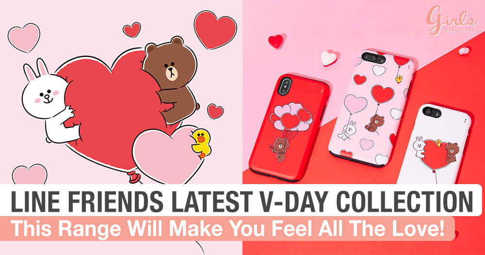 Love Is In The Air Thanks To LINE Friends Valentine's Day Collection