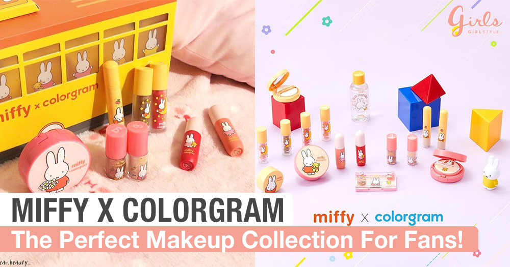 K-Beauty Brand Colorgram Has Collaborated With Miffy To Bring You This Adorable Collection!