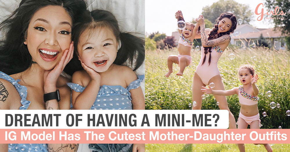 This Mom Wears The Cutest Matching Outfits With Her Daughters And It's Totally #MomGoals