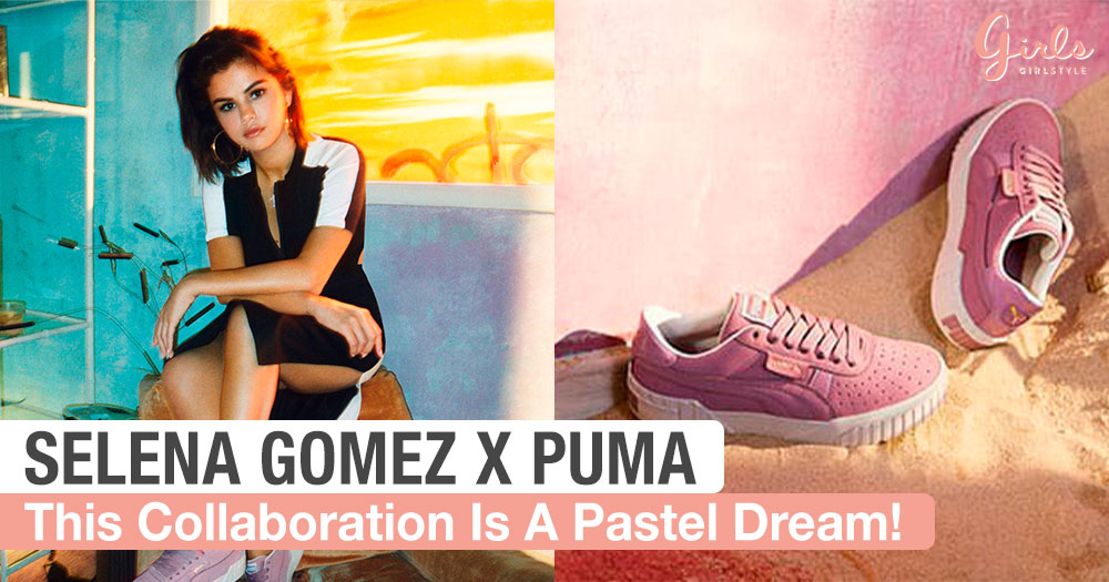 Make A Fashion Statement With Selena Gomez's Latest Pastel Collaboration With PUMA