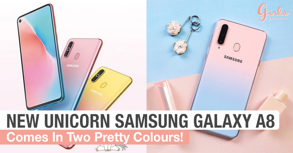 Samsung Just Released The Prettiest Unicorn Phones And It Looks Like Cotton Candy