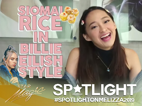 Spotlight on Melizza: Siomai Rice in Billie Eilish Style