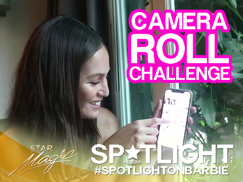 Spotlight on Barbie: Camera Roll Challenge