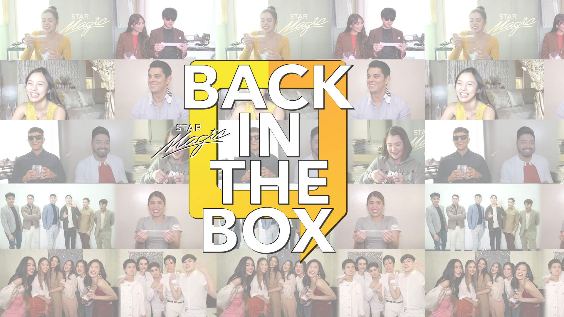Rewind back to the best random questions and funny challenges | Back in the Box
