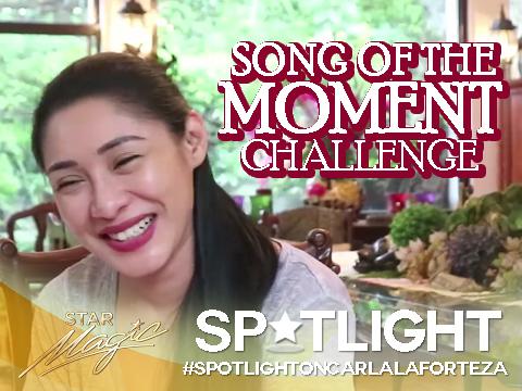 Spotlight on Carla Laforteza: Song of the Moment Challenge