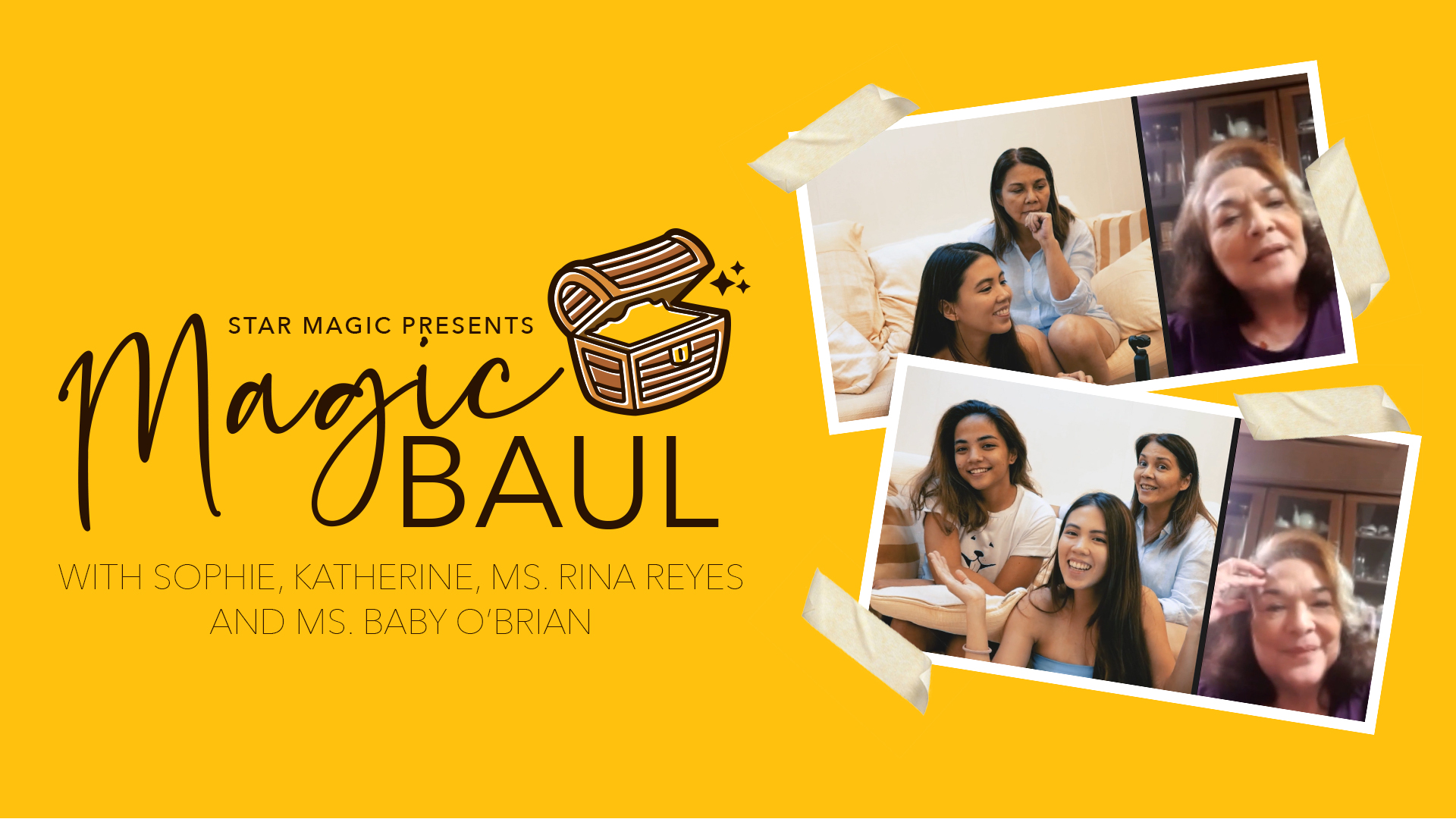 Magic Baul: 4 Generations of Beauty & Style from Paraluman, Baby O'Brien, Rina Reyes &
