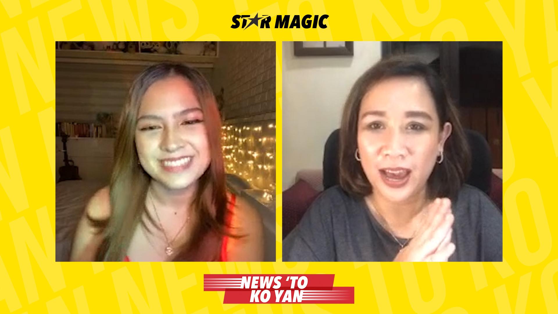 Which Salazar sister did Alexa Ilacad audition for? | News 'To Ko Yan