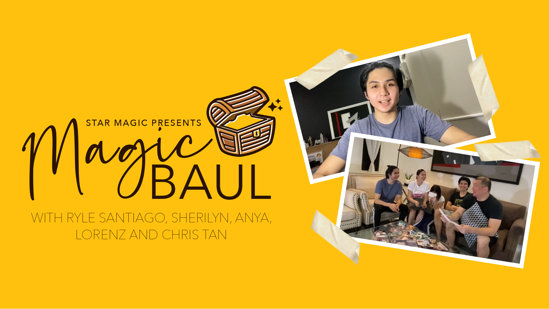 Star Magic Baul: Visiting Ryle Santiago and Family