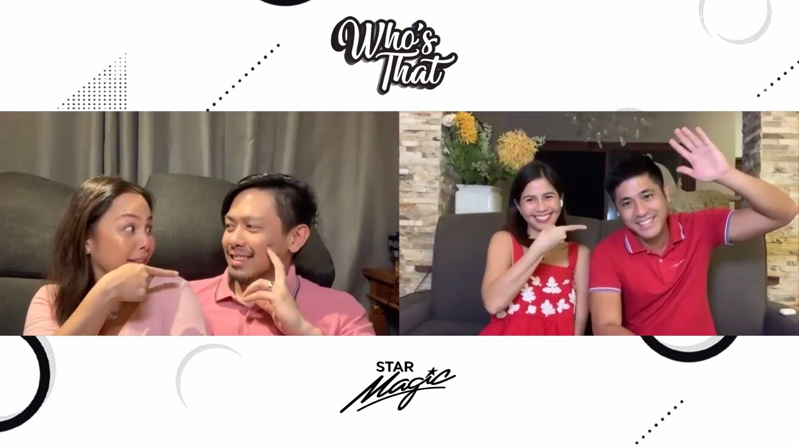 Why Nikki-Luis and Kaye-Paul Jake are #RelationshipGoals? | Who's That