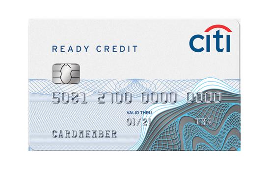 บัตรกดเงินสด Citibank Ready Credit