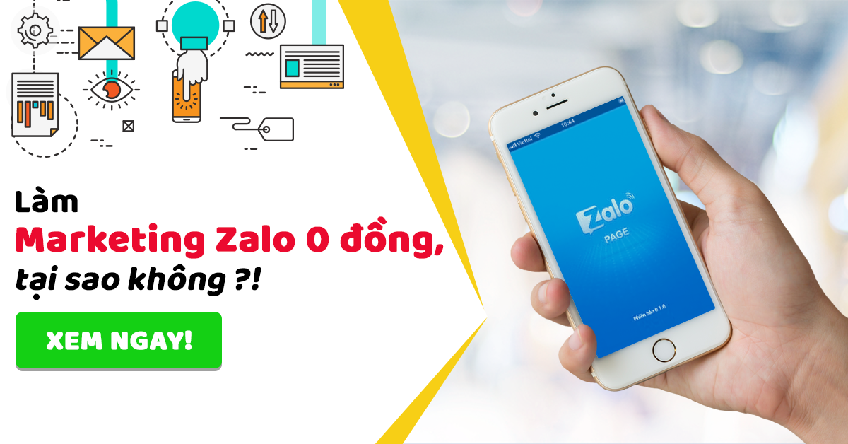 marketing zalo 0 đồng