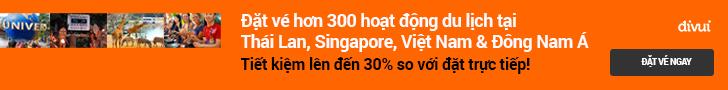 Đặt Vé, Tour, Show... Rẻ mỗi ngày - Các hoạt động du lịch khắp Châu Á