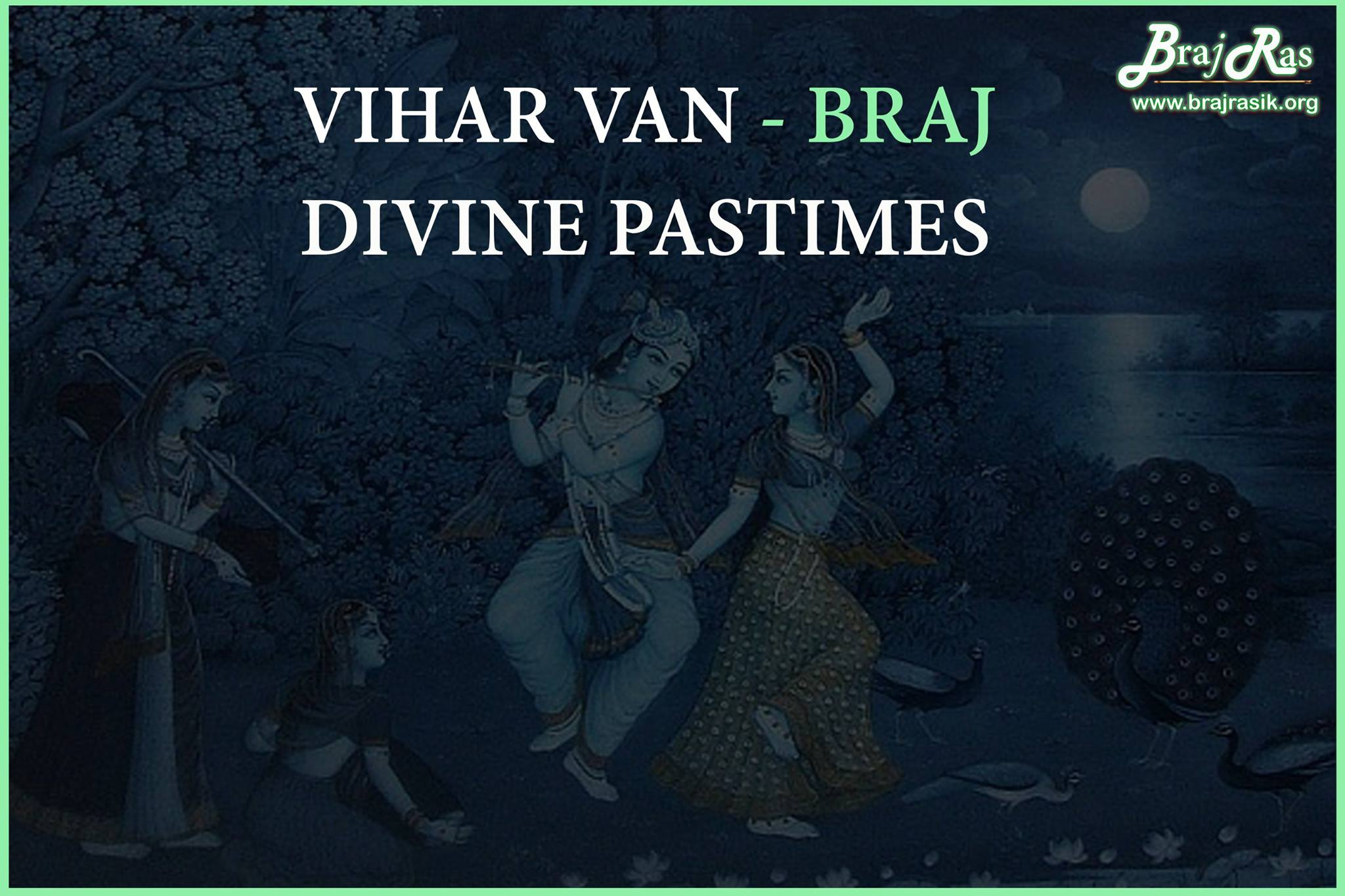 Vihar Van, Braj - Excursion forest