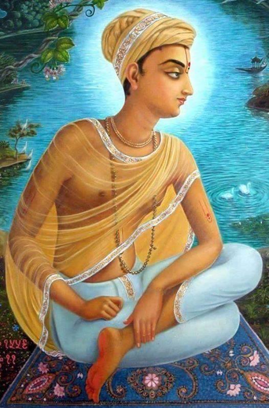 When Shri Hariram Vyas Ji felt that Kabirdas Ji has not been able to obtained Vrindavan Ras