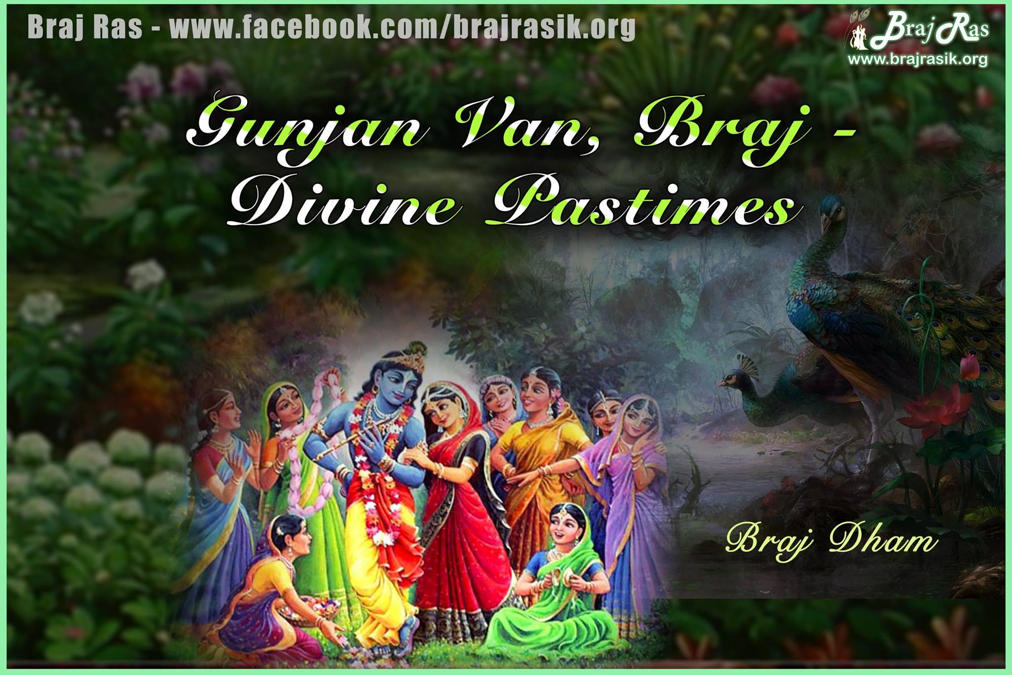 Gunjana Vana, Braj - Divine Pastimes