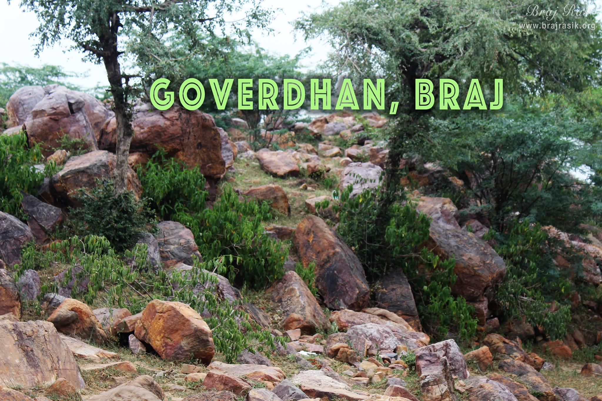Giriraj Goverdhan, Braj - Pastimes