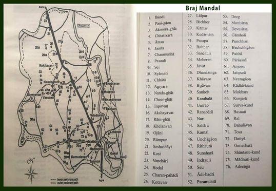 Braj Dham Maps
