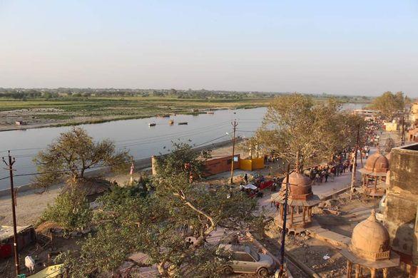Vrindavan Dham From Top - Bird Eye