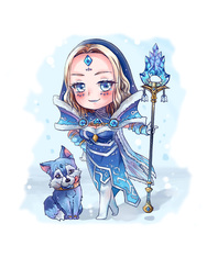 Rylai, the Crystal Maiden - Winter Storm