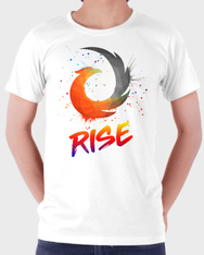 RISE Graffiti - White