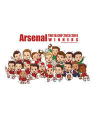 Arsenal : FA cup the winner 2013/2014