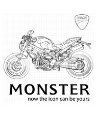 Monster blueprint