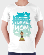 Love Mom...Man by Hippo Design