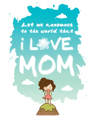 Love Mom...Woman by Hippo Design