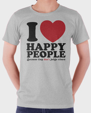 i love happy people
