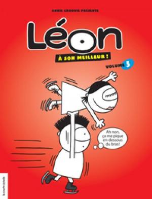 Léon à son meilleur, volume 5 by Annie Groovie from De Marque in Français category