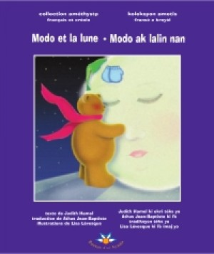 Modo et la lune Modo ak lalin nan by Judith Hamel from De Marque in Français category