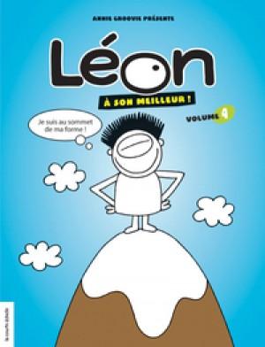 Léon à son meilleur, volume 4 by Annie Groovie from De Marque in Français category