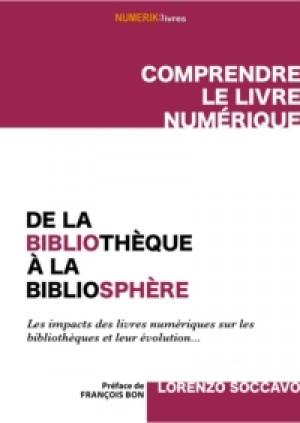 De la bibliothèque à la bibliosphère by Lorenzo Soccavo from De Marque in Français category