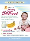 5 Steps To a Healthy and Positive Childhood by Anjali Arora from Sterling Publishers Pvt Ltd in Family & Health category