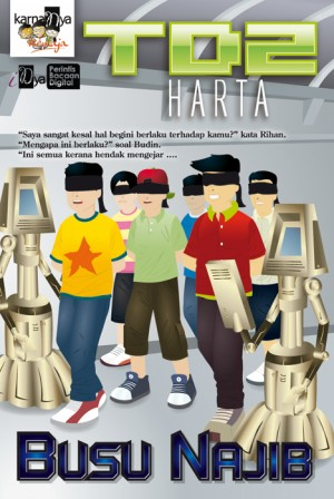 Terowong Digital  2: Harta by Busu Najib from KarnaDya Solutions Sdn Bhd in Teen Novel category