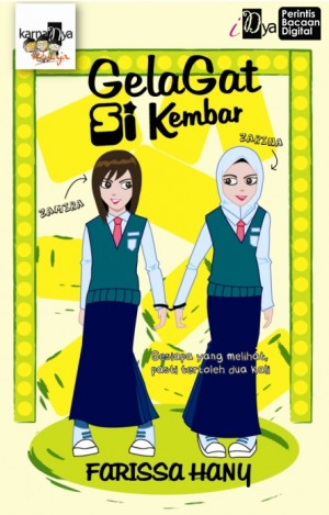 Gelagat Si Kembar by Farissa Hany from KarnaDya Solutions Sdn Bhd in Teen Novel category