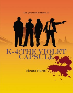 K-4 : The Violet Capsule by Elzara Hariri from K Four Publishing in General Novel category