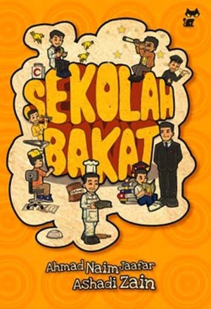 Sekolah Bakat by Ashadi Zain, Ahmad Naim Jaafar from PTS Publications in Teen Novel category