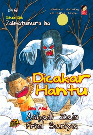 Adam Kecil - Dicakar Hantu by Ashadi Zain, Fred Suriya, Zalimatunura Isa from PTS Publications in Tots & Toddlers category
