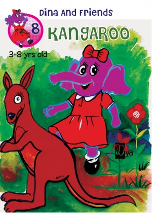 Dina and Friends:Kangaroo by iDya from KarnaDya Solutions Sdn Bhd in Tots & Toddlers category