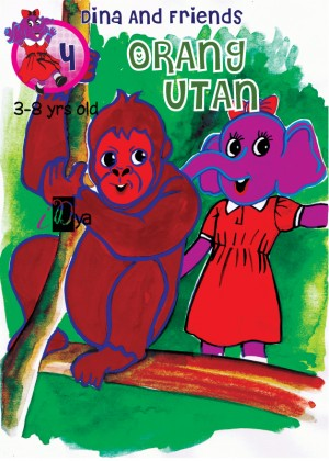 Dina and Friends: Orang Utan by iDya from  in  category