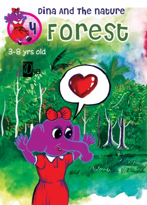 Dina and The Nature: Forest by iDya from KarnaDya Solutions Sdn Bhd in Tots & Toddlers category