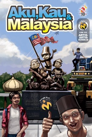 Aku, Kau & Malaysia by Artis-artis Komik-M from PTS Publications in Comics category