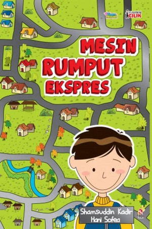 Usahawan Cilik: Mesin Rumput Ekspres by Shamsuddin Abdul Kadir, Hani Sofea from PTS Publications in Teen Novel category