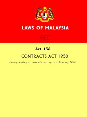 ACT 136 :Contracts Act 1950 by Xentral Methods from Xentral Methods Sdn Bhd in Law category