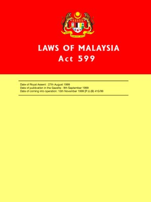 ACT 599 : Consumer Protection Act 1999