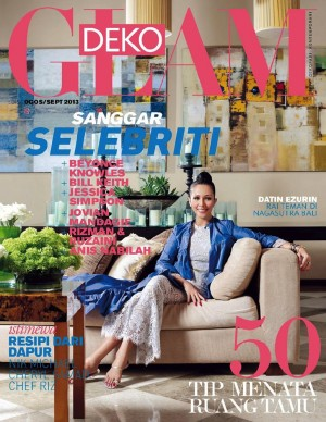 Glam Deko Aug and Sept 2013 by BLU INC MEDIA SDN BHD from BLU INC MEDIA SDN BHD in Magazine category