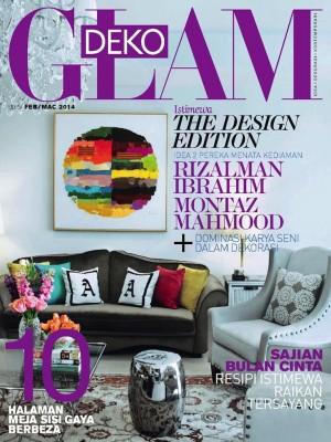 Glam Deko Malaysia Februari 2014 by BLU INC MEDIA SDN BHD from BLU INC MEDIA SDN BHD in Magazine category