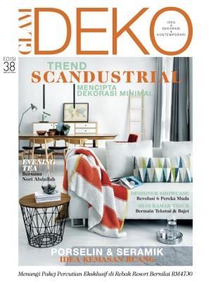 Glam Deko Disember 2015 by BLU INC MEDIA SDN BHD from BLU INC MEDIA SDN BHD in Magazine category